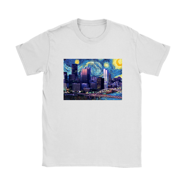 Starry Nigh N'at- Ladies T