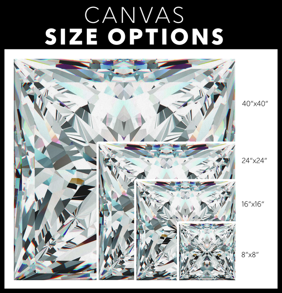 Diamond Wrap!- Princess Cut