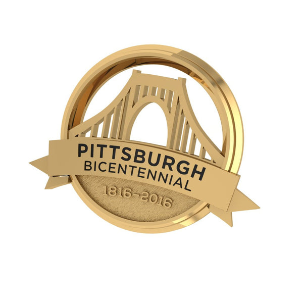 Pittsburgh Bicentennial Cuff Links