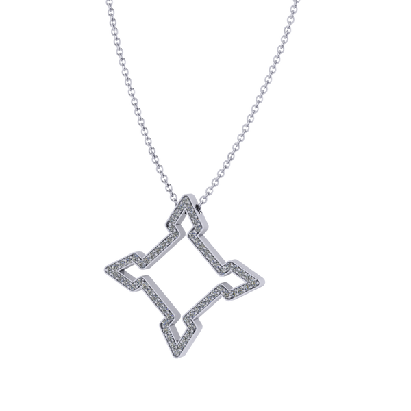 The Diamond Fortress Pendant