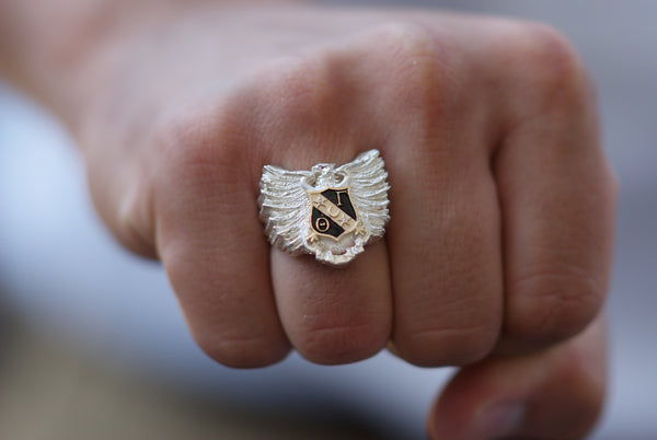 The Theta Gamma Ring- Sterling