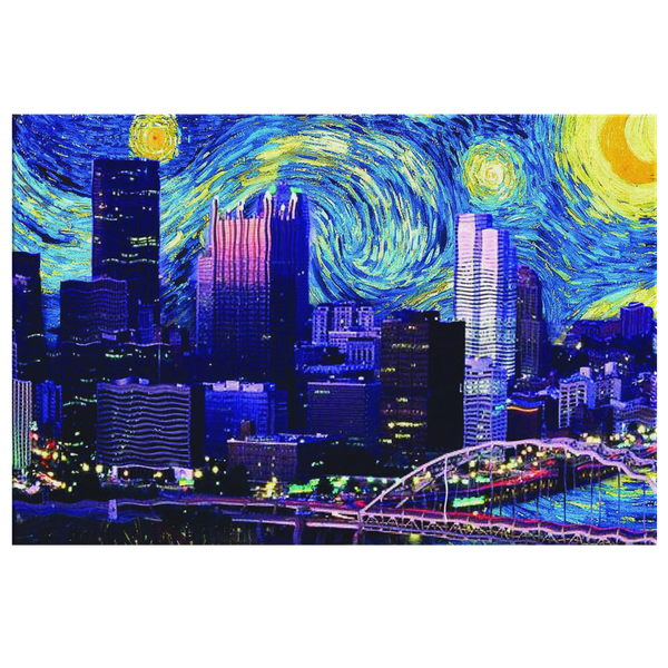 Starry Nigh N'at Limited Edition Wall Art