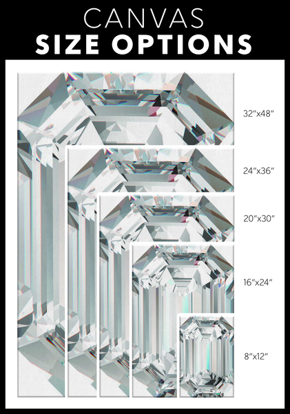 Diamond Wrap!- Emerald Cut