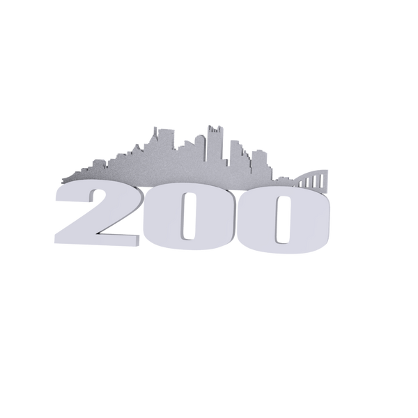 The 200 Pittsburgh Pin