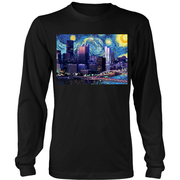 Starry Nigh N'at- Long Sleeve T