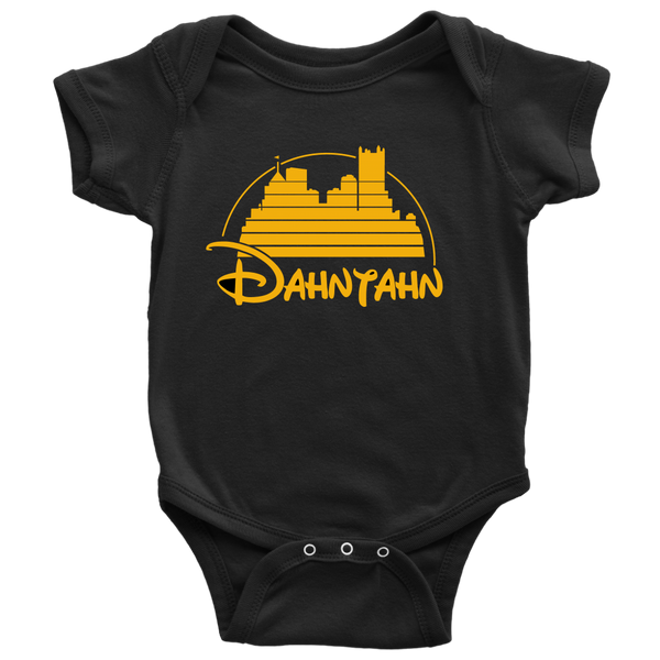 Black N' Gold-Baby Onesie