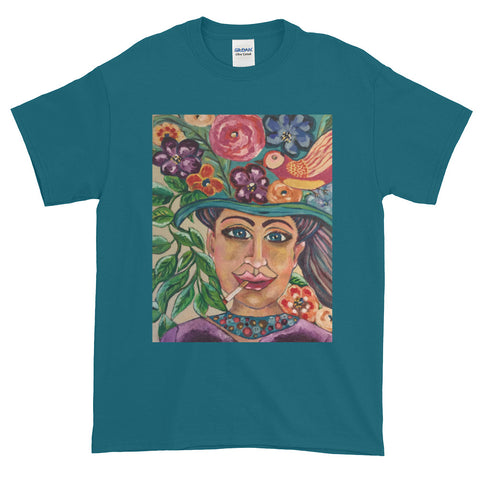 """Gaia Takes 10"" Short-Sleeve T-Shirt Plus Sizes up to 5XL"