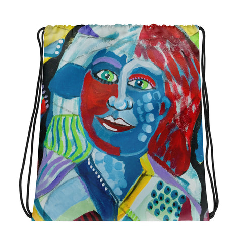 """Daydreaming"" Drawstring bag"