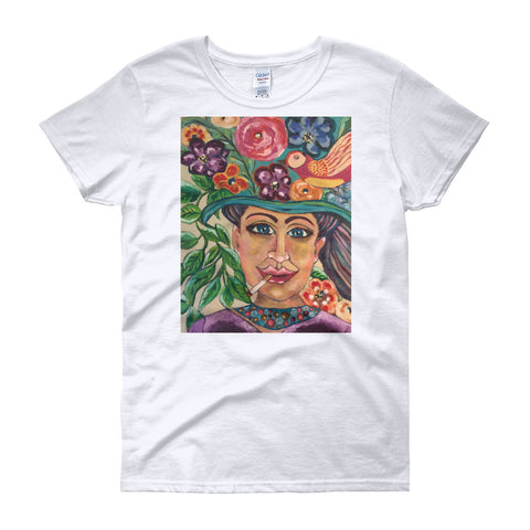 """Gaia Takes 10"" Women's short sleeve t-shirt Sizes up to 3XL"