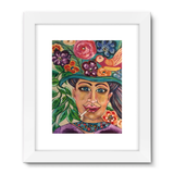 """Gaia Takes 10"" Framed Fine Art Print"