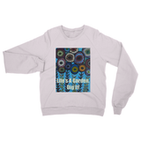 """Life's A Garden"" Heavy Blend Crew Neck Sweatshirt"