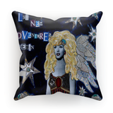 """Let New Adventures Begin"" Cushion"