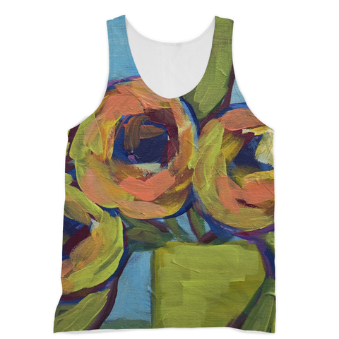 """Peaches and Green"" Sublimation Vest"