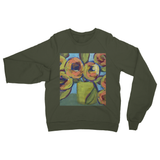 """Peaches and Green"" Heavy Blend Crew Neck Sweatshirt"
