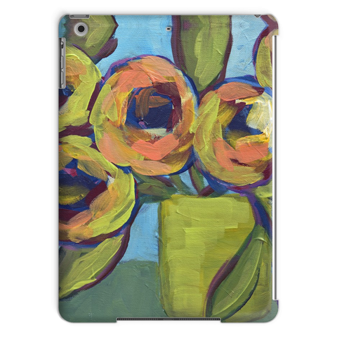 """Peaches and Green"" Tablet Case"