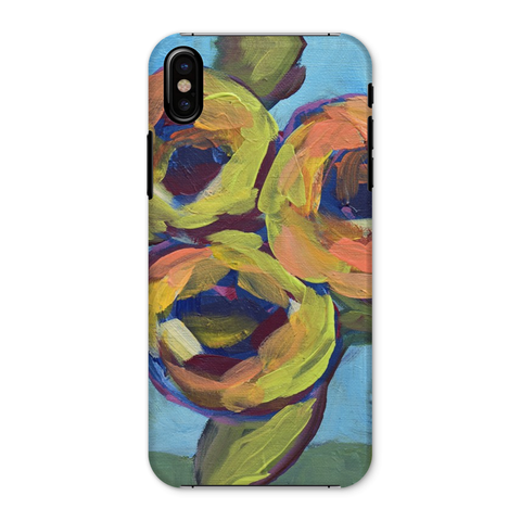 """Peaches and Green"" Phone Case"