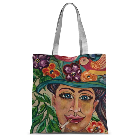 """Gaia Takes 10"" Tote Bag"