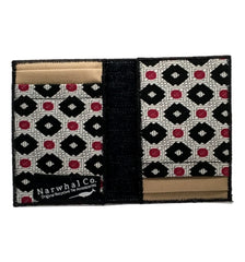 Tie-fold Unique Women's Card Wallet