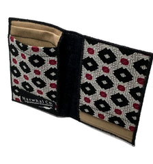 Tie-fold Custom Fabric Wallet