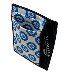 Tie-slim Fabric Men's Wallet