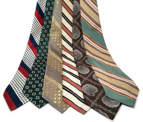 upcycling vintage men's ties