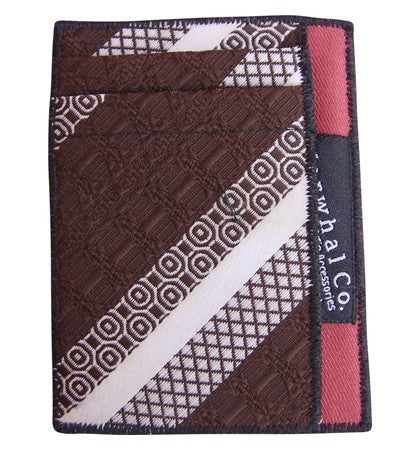 Out to Lunch - Tie Slim Wallet :: Narwhal Company