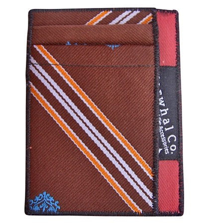Playing Hooky - Tie Slim Wallet :: Narwhal Company