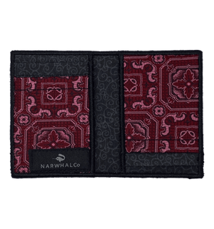 1920's Romance - Tie Fold Wallet :: Narwhal Company