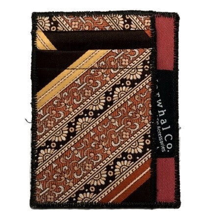 Persian Carpet - Tie Slim Wallet :: Narwhal Company