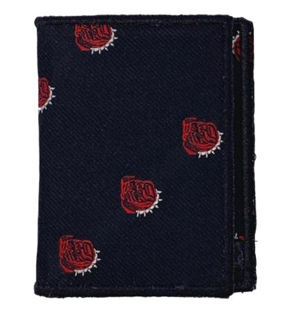Bulldogs - Tie Fold Wallet :: Narwhal Company