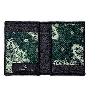 Green Lantern - Tie Fold Wallet :: Narwhal Company