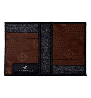 Kasshoku - Tie Fold Wallet :: Narwhal Company