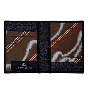 Wide Band - Tie Fold Wallet :: Narwhal Company