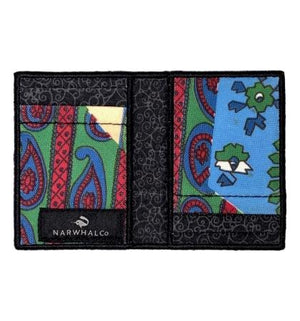 Blue Meanie - Tie Fold Wallet :: Narwhal Company