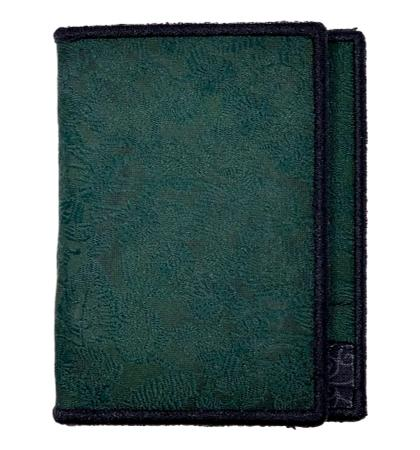 Deep Green - Tie Fold Wallet :: Narwhal Company