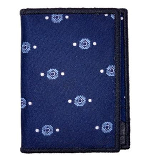 Blueberry Jam - Tie Fold Wallet :: Narwhal Company