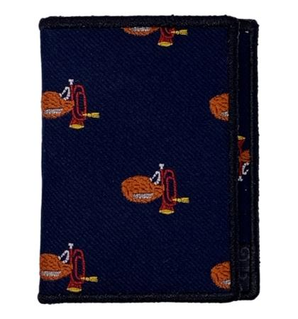 Trumpet - Tie Fold Wallet :: Narwhal Company