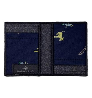YCDBSOYA - Tie Fold Wallet :: Narwhal Company