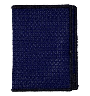 Deep Blue - Tie Fold Wallet :: Narwhal Company