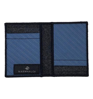 Aqua Love - Tie Fold Wallet :: Narwhal Company
