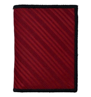Blood Red - Tie Fold Wallet :: Narwhal Company