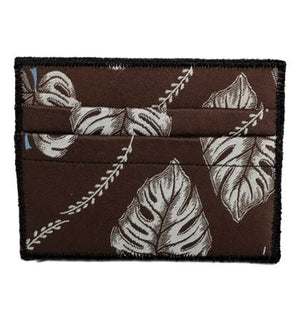 Botanical Art - Tie Rack Wallet :: Narwhal Company
