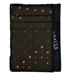 Chocolate Nugget - Tie Slim Wallet :: Narwhal Company