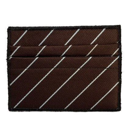 Chocolate Sundae - Tie Rack Wallet :: Narwhal Company