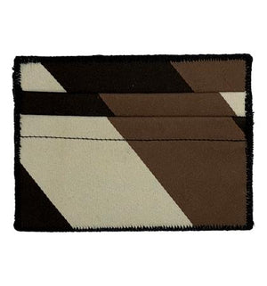 Chocolate - Tie Rack Wallet :: Narwhal Company