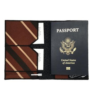 Clip - Tie-Passport Wallet :: Narwhal Company