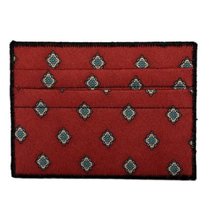 Crimson - Tie Rack Wallet :: Narwhal Company