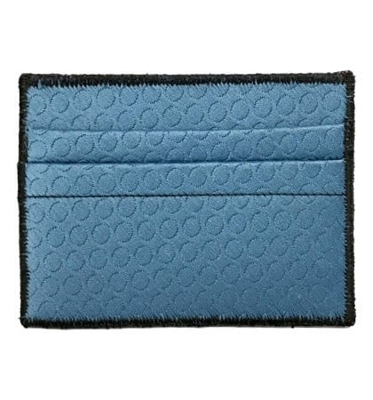 Crystal Blue - Tie Rack Wallet :: Narwhal Company