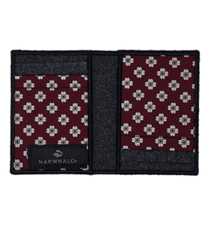 Flower Jellies - Tie Fold Wallet :: Narwhal Company