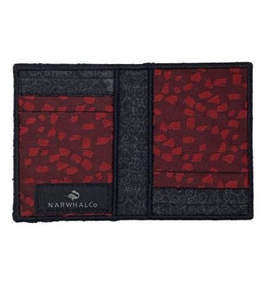 Forest Fire - Tie Fold Wallet :: Narwhal Company